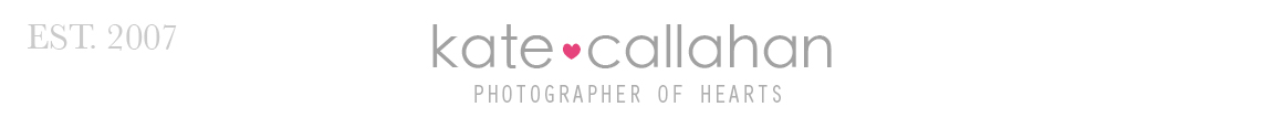 Hudson Valley, NY child, family, newborn, senior photographer — Kate Callahan Photography — also serving, NYC, DE, MD, NJ, PA logo